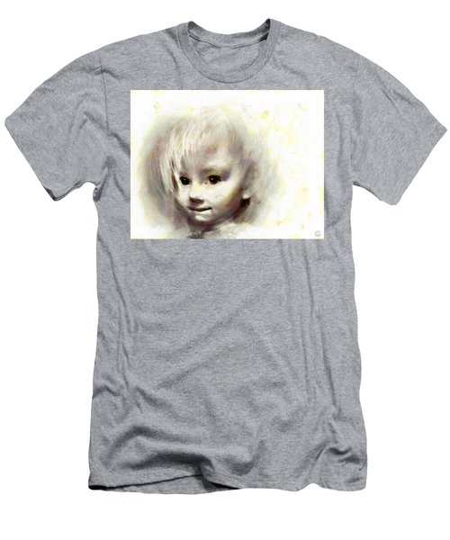 Child Portrait Men's T-Shirt (Athletic Fit)