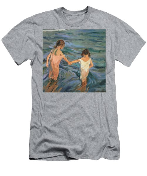 Children In The Sea Men's T-Shirt (Athletic Fit)