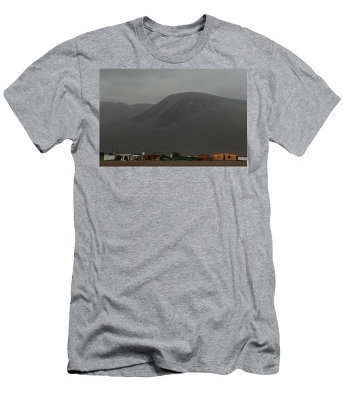 Chilean Village In Atacama Desert Men's T-Shirt (Athletic Fit)