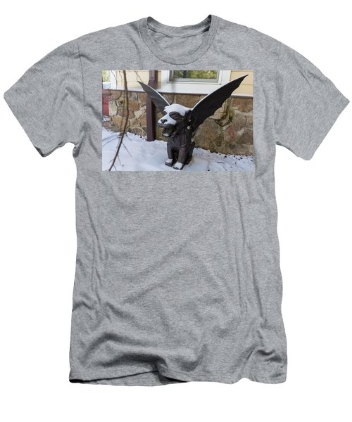 Chimera In The Snow Men's T-Shirt (Athletic Fit)
