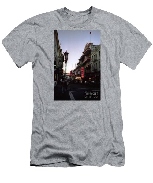 China Town San Francisco  Men's T-Shirt (Athletic Fit)