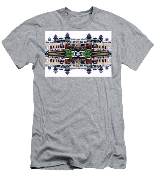 Chinatown Chicago 2 Men's T-Shirt (Athletic Fit)