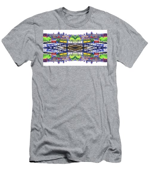 Chinatown Chicago 3 Men's T-Shirt (Athletic Fit)