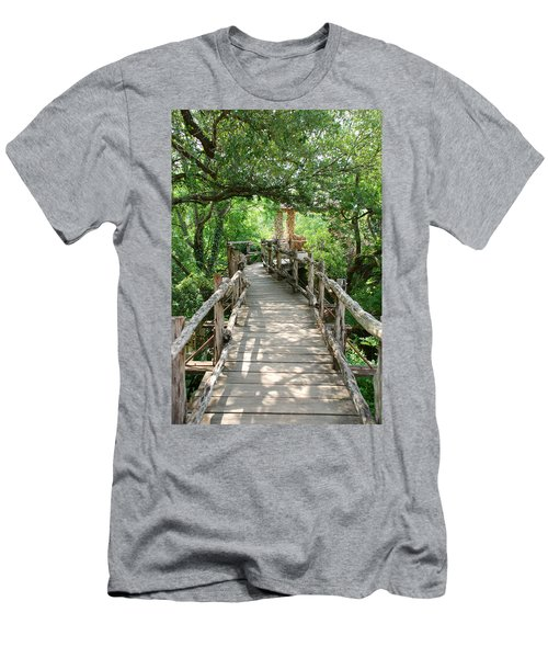 Chinese Garden Men's T-Shirt (Athletic Fit)