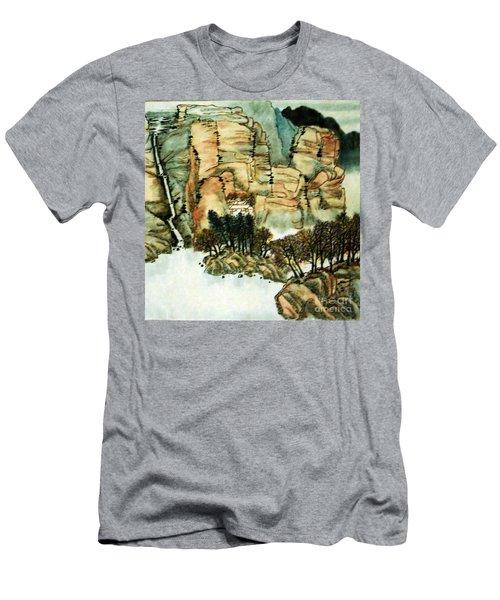 Chinese Landscape #1 Men's T-Shirt (Athletic Fit)
