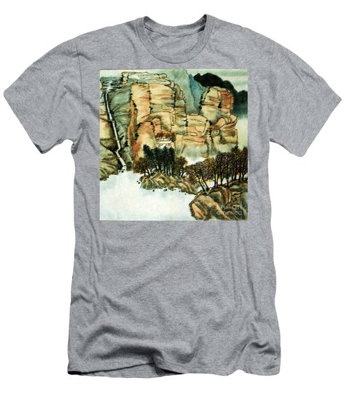 Chinese Landscape #1 Men's T-Shirt (Athletic Fit)