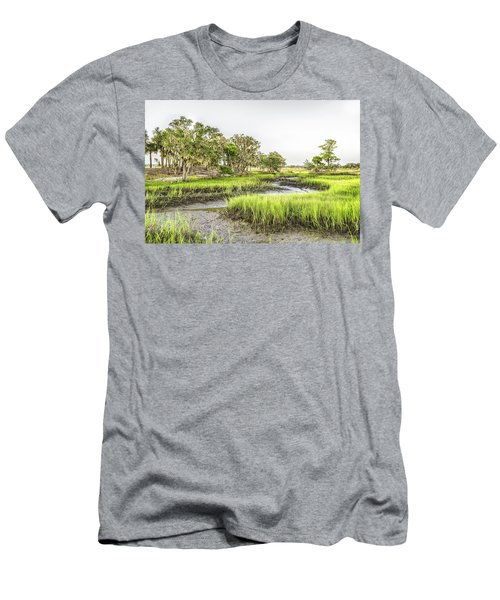 Chisolm Island - Low Tide Men's T-Shirt (Athletic Fit)