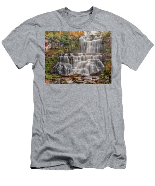 Chittenango Falls Men's T-Shirt (Athletic Fit)