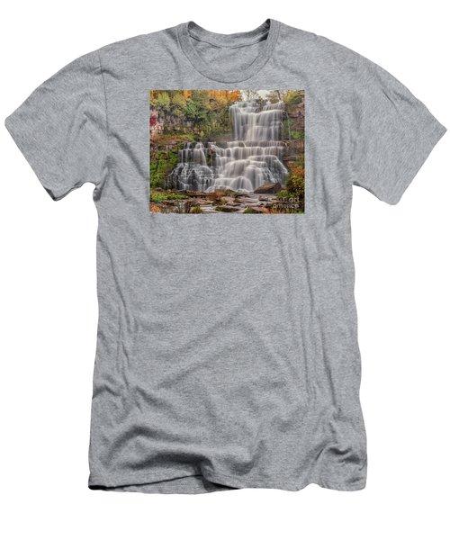 Chittenango Falls Men's T-Shirt (Athletic Fit)