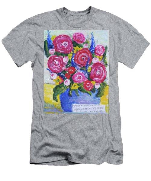 Choice Bouquet Men's T-Shirt (Athletic Fit)