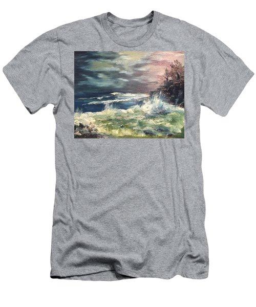 Choppy Seas 1 Men's T-Shirt (Athletic Fit)