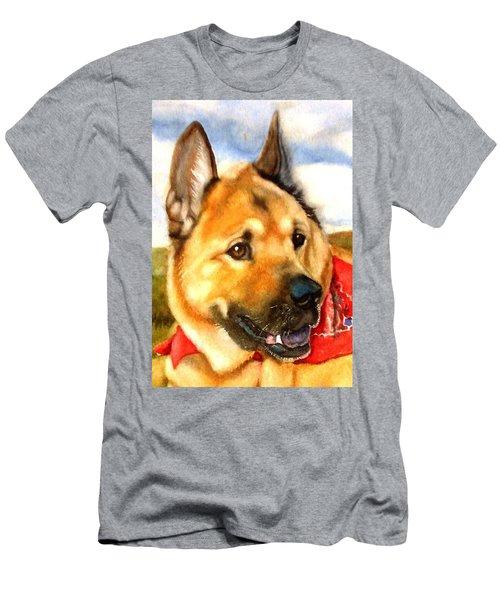 Chow Shepherd Mix Men's T-Shirt (Athletic Fit)