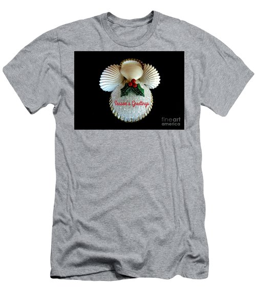 Christmas Angel Greeting Men's T-Shirt (Athletic Fit)