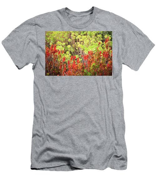 Men's T-Shirt (Athletic Fit) featuring the photograph Christmas Cactii by David Chandler