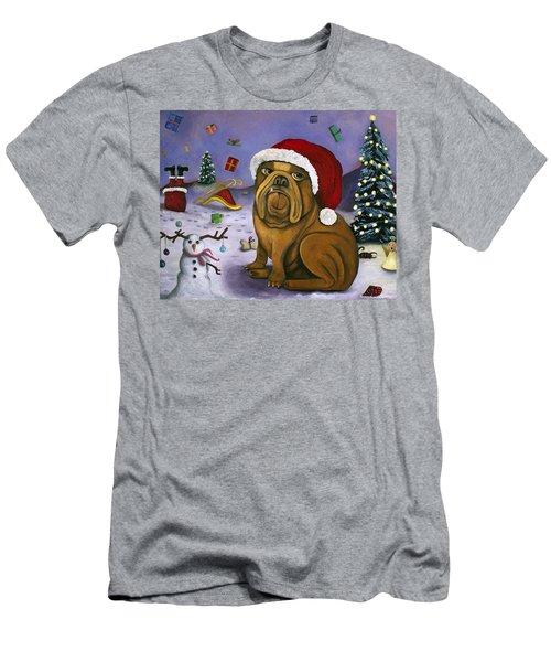 Christmas Crash Men's T-Shirt (Athletic Fit)