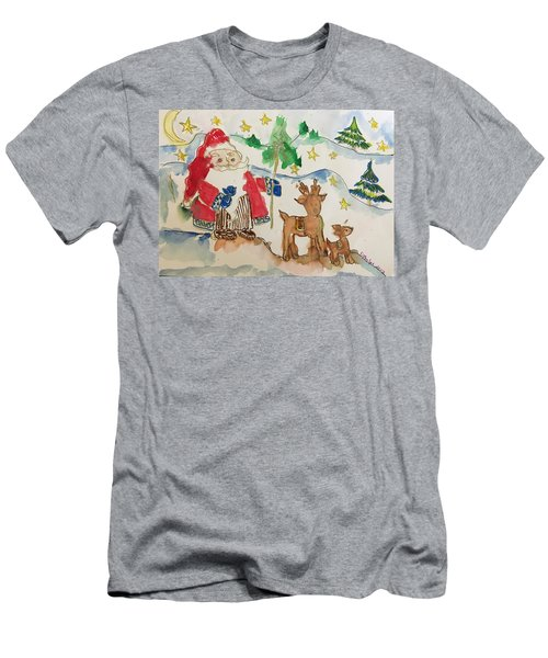 Christmas Is Coming  Men's T-Shirt (Athletic Fit)