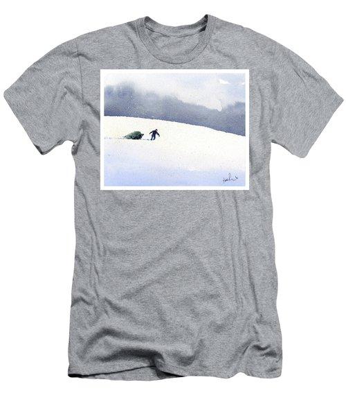 Christmas Past Men's T-Shirt (Athletic Fit)