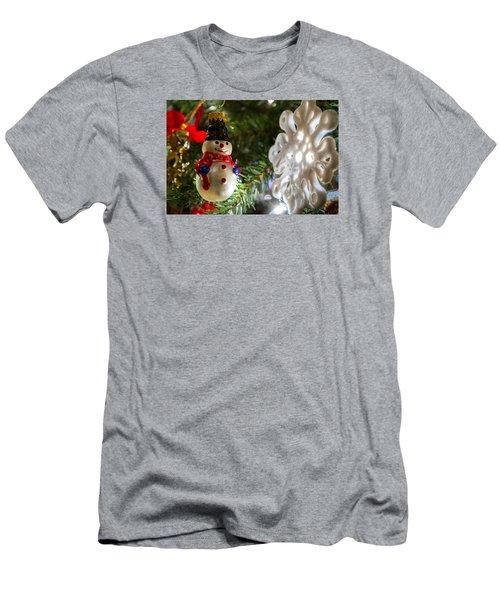 Christmas Tree Memories Men's T-Shirt (Athletic Fit)