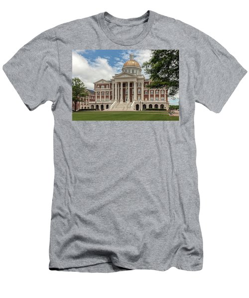 Christopher Newport Hall Men's T-Shirt (Athletic Fit)