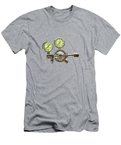 Chrome Regulator Gauges Men's T-Shirt (Slim Fit) by YoPedro
