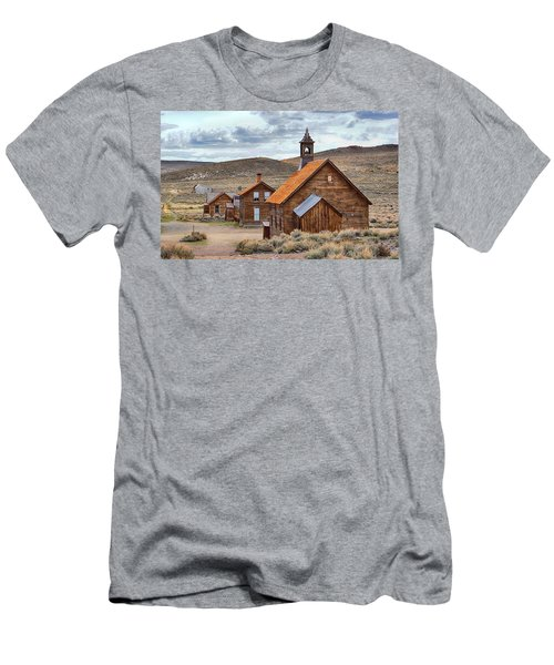 Church At Bodie Ghost Town Men's T-Shirt (Athletic Fit)