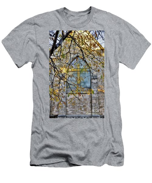 Church Ghost Men's T-Shirt (Athletic Fit)