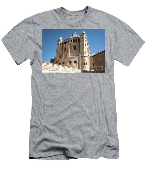 Men's T-Shirt (Athletic Fit) featuring the photograph Church Of The Dormition by Mae Wertz