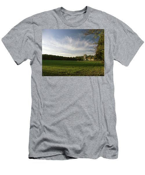 Church On The Edge Of A Forest Men's T-Shirt (Athletic Fit)