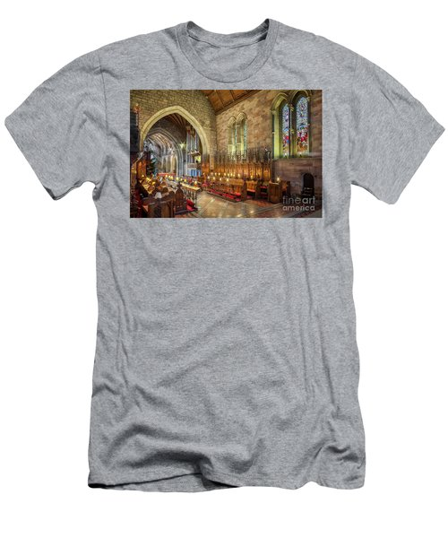Church Organist Men's T-Shirt (Athletic Fit)