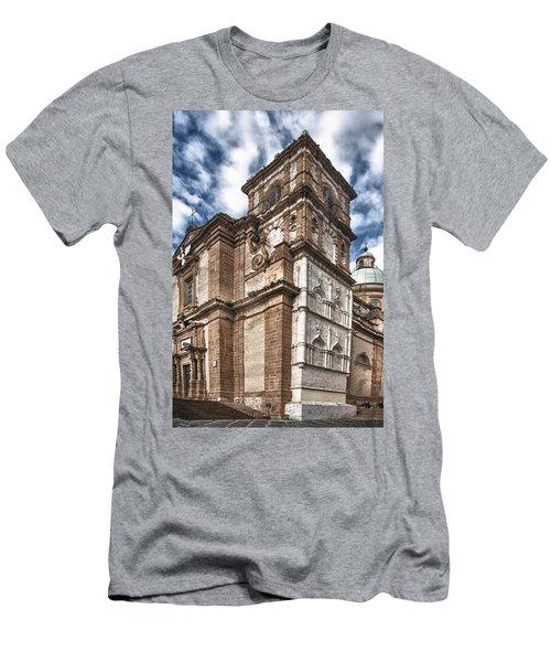 Church Men's T-Shirt (Slim Fit) by Patrick Boening