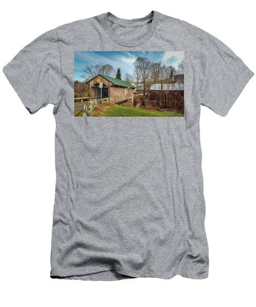 Church Street Bridge Men's T-Shirt (Athletic Fit)