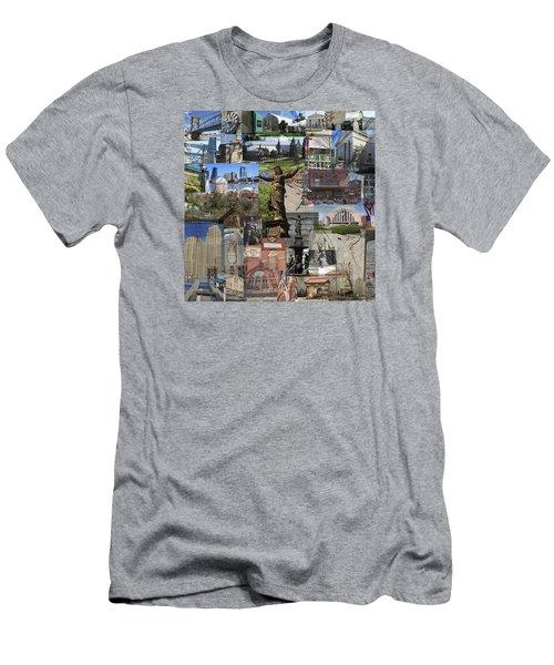 Cincinnati's Favorite Landmarks Men's T-Shirt (Slim Fit) by Robert Glover