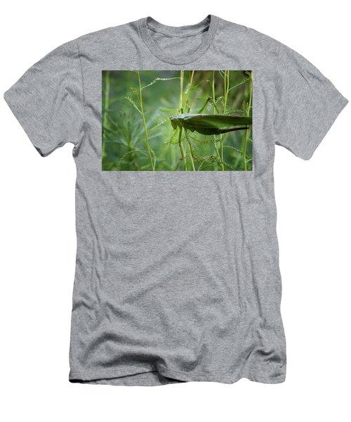 Men's T-Shirt (Athletic Fit) featuring the photograph Cinq Pattes by Rasma Bertz