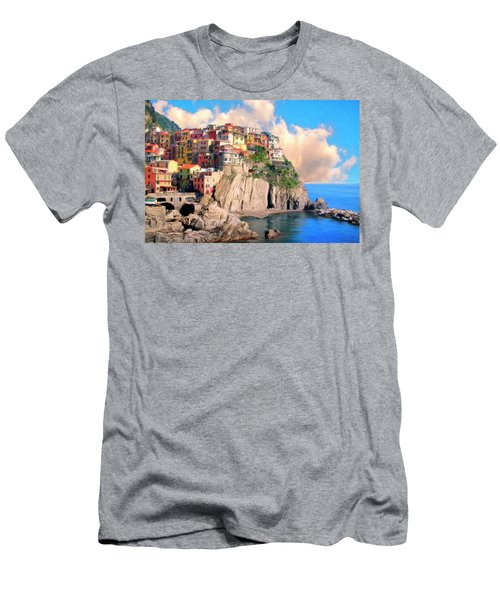 Cinque Terre Men's T-Shirt (Athletic Fit)