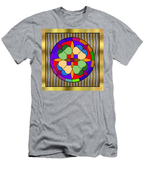 Circle On Bars 4 Men's T-Shirt (Athletic Fit)