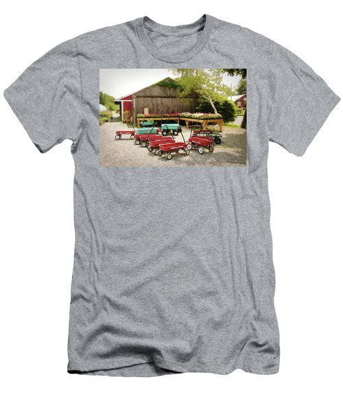Circle The Wagons Men's T-Shirt (Athletic Fit)