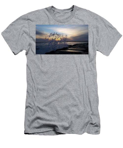 Circling Sunset Men's T-Shirt (Slim Fit) by Robert Banach