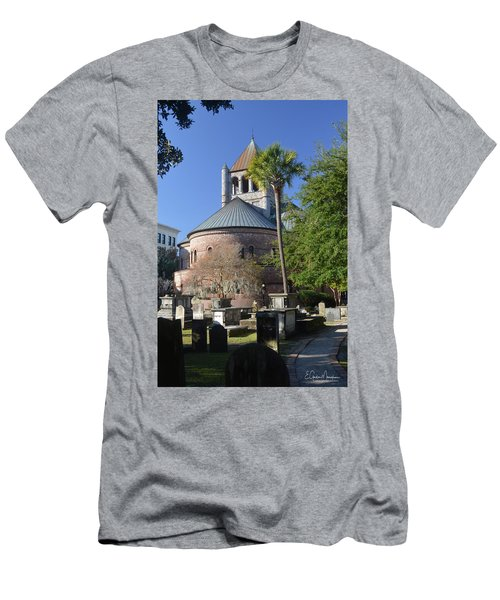 Circular Congregational Chuch 2 Men's T-Shirt (Slim Fit) by Gordon Mooneyhan