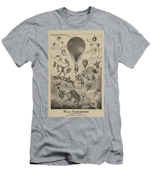 Circus Balloon Men's T-Shirt (Athletic Fit)