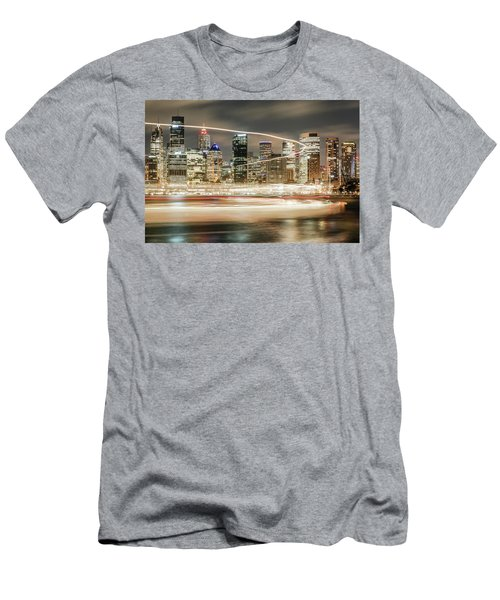 City Blur Men's T-Shirt (Athletic Fit)