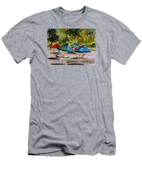 City Cafe Men's T-Shirt (Slim Fit) by John Williams