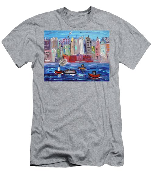 City City City Men's T-Shirt (Athletic Fit)