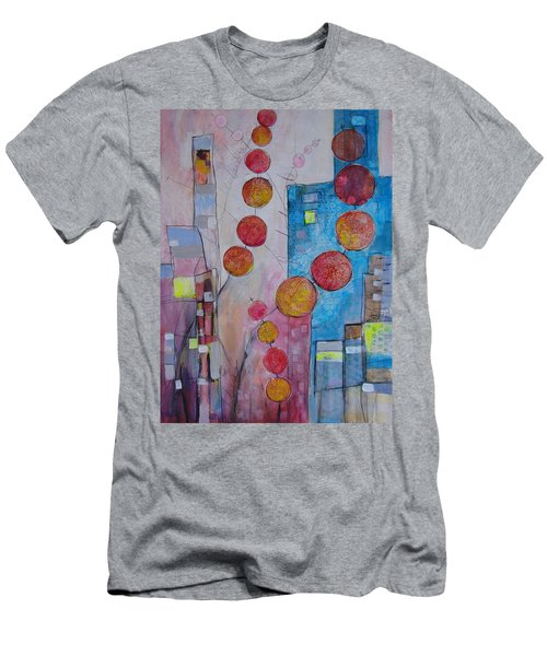 City Festival Men's T-Shirt (Slim Fit) by Karin Husty