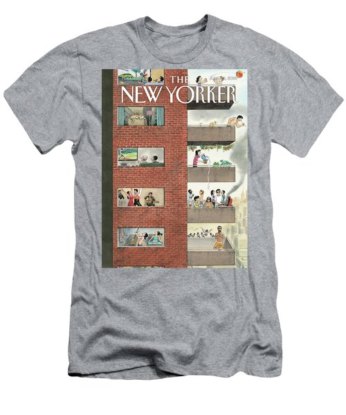 City Living Men's T-Shirt (Athletic Fit)