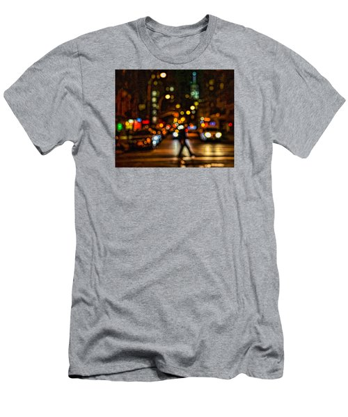 City Nights, City Lights Men's T-Shirt (Athletic Fit)