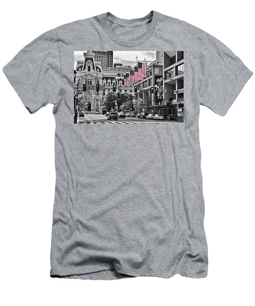 City Of Brotherly Love - Philadelphia Men's T-Shirt (Athletic Fit)