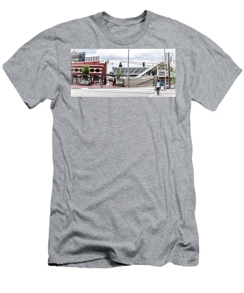 City Stadium Men's T-Shirt (Athletic Fit)