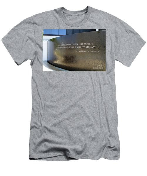 Civil Rights Memorial Men's T-Shirt (Athletic Fit)