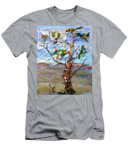 Clarity Men's T-Shirt (Slim Fit) by Regina Valluzzi