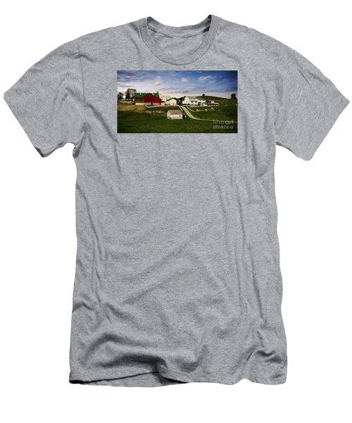 Clean Pastures Men's T-Shirt (Athletic Fit)